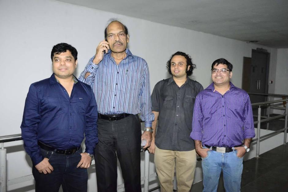 Neil D'Silva, Anirruddh Agarwal, Varun Prabhu and Roy Daniel D'Silva