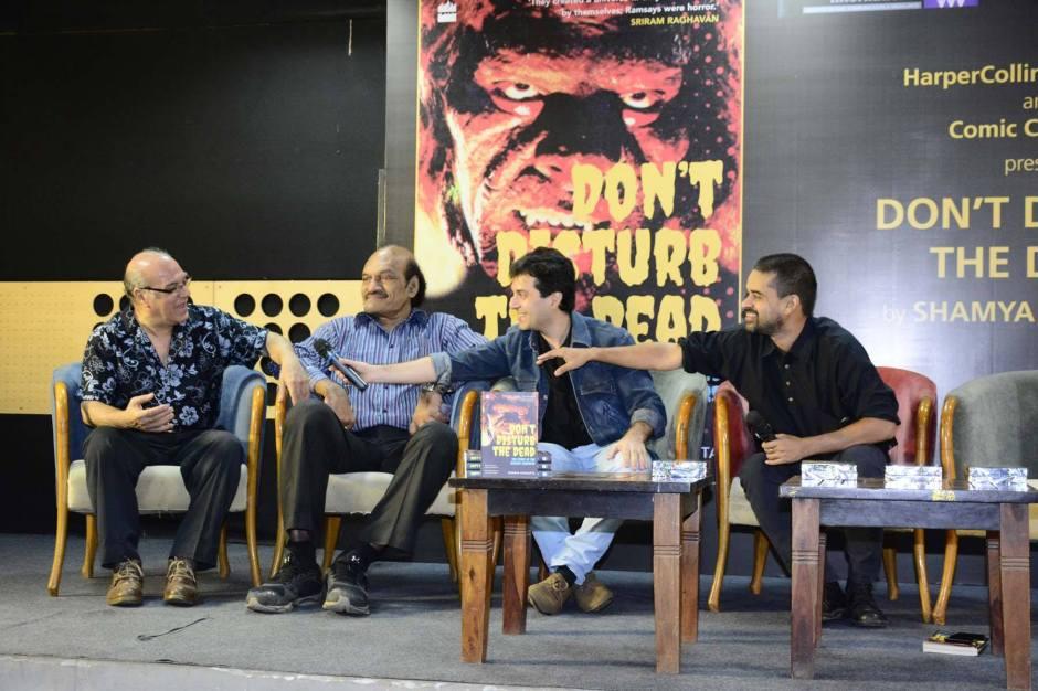 Arjun Ramsay, Anirudh Agarwal, Amit Ramsay and Shamya Dasgupta