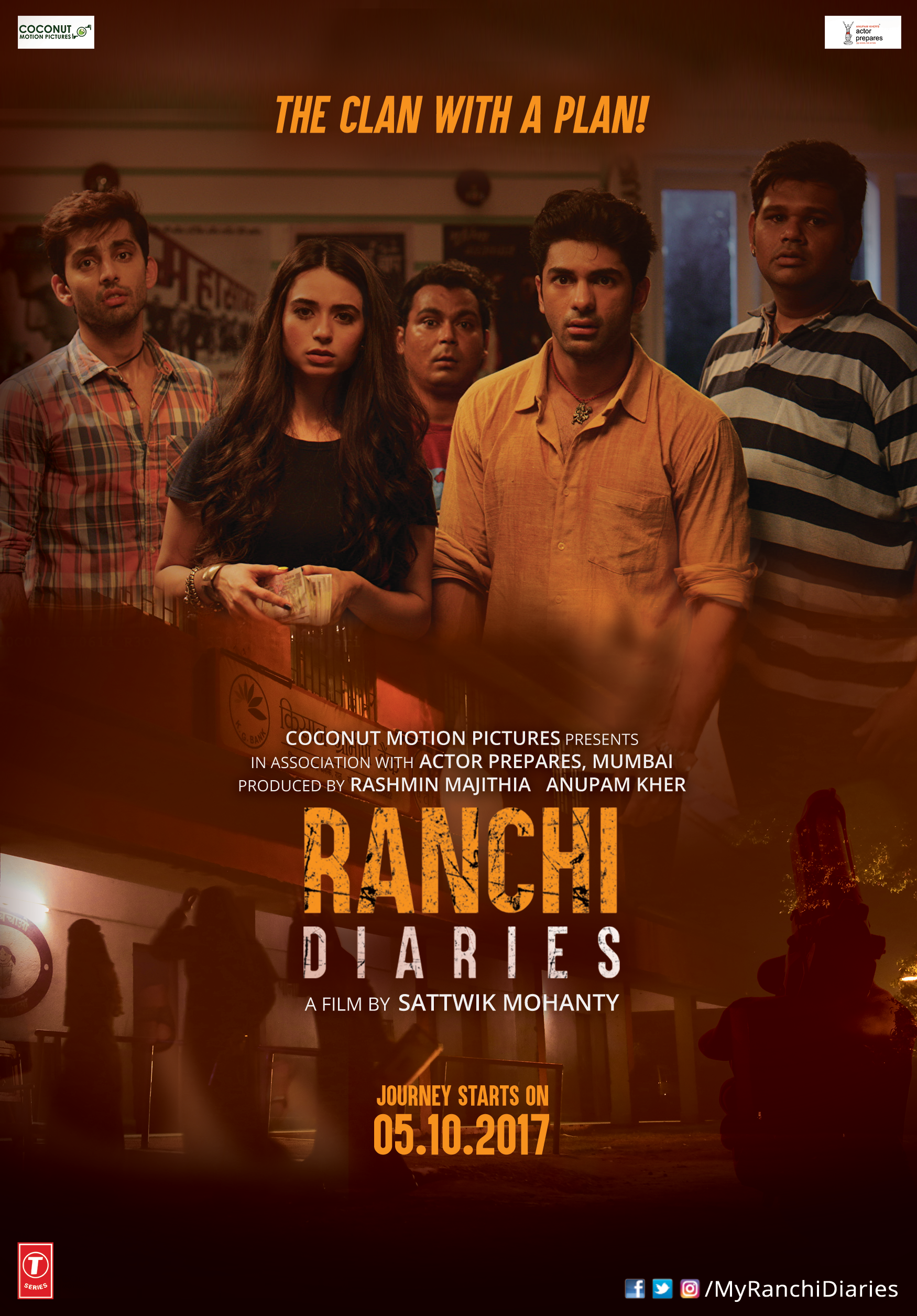 Ranchi Diaries - Poster 1