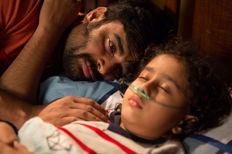Madhavan and Atharva Kulkarni in a still from Breathe